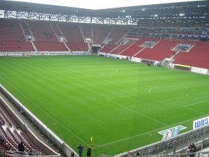 Empty Bundesliga stadium