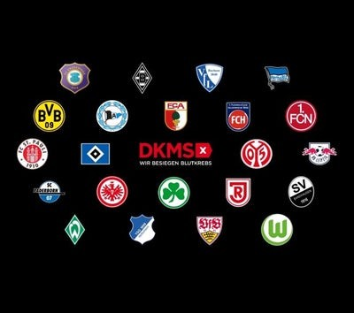 Bundesliga clubs campaign against blood cancer